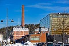 Sibeliustalo Sibelius Hall, Lahti, Finlande Image stock