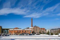 Sibeliustalo Sibelius Hall, Lahti, Finlande Photo stock