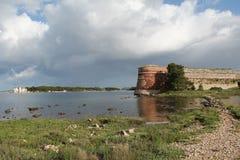 Sibenik圣尼古拉斯堡垒 免版税图库摄影