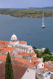 Sibenik foto de stock royalty free