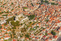 Sibenik aerial Stock Photo