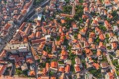 Sibenik aerial Royalty Free Stock Image
