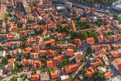 Sibenik aerial Stock Image