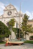 Sibenik, catedral de San Jaime Fotografía de archivo libre de regalías