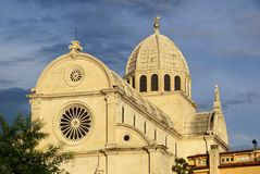 Sibenik Cathedral Stock Images