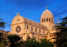 Sibenik Cathedral Royalty Free Stock Photos