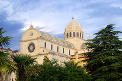 Sibenik Cathedral Stock Photo
