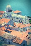 Sibenik Cathedral Royalty Free Stock Photo