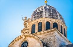 Sibenik, The Cathedral, Croatia. Royalty Free Stock Photo