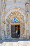 Sibenik Cathedral entrance Royalty Free Stock Photos