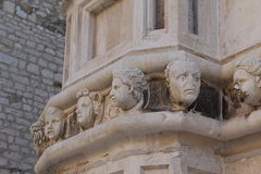 Sibenik cathedral Stock Image