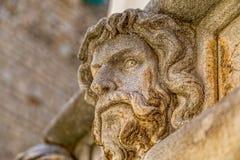 Sibenik Cathedral head detail Royalty Free Stock Image