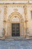 Sibenik Cathedral Lion Gate Royalty Free Stock Image