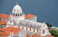 Sibenik - Cathedral of Saint James Royalty Free Stock Photos