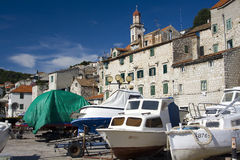 Sibenik in Croatia Royalty Free Stock Photo
