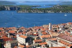 Sibenik, Croatia fotos de archivo
