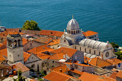 Sibenik, Croatia Fotos de Stock Royalty Free
