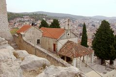 Sibenik, Croatia Royalty Free Stock Images