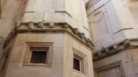 Sibenik, Croatia Catedral de San Jaime almacen de video