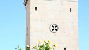 Sibenik, Croatia Catedral de San Jaime almacen de metraje de vídeo