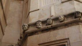 Sibenik, Croatia Catedral de San Jaime stock de ilustración