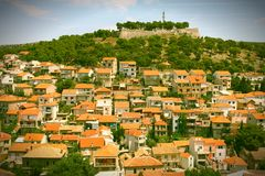 Sibenik, Croatia Royalty Free Stock Photo