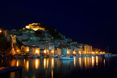 Sibenik night Royalty Free Stock Photo