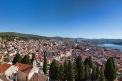 Sibenik, Croatia, old town Stock Photos