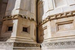 Sibenik Croatia St. James cathedral heads Royalty Free Stock Photography