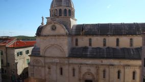 Sibenik, Croatia. St. James Cathedral. Royalty Free Stock Photography