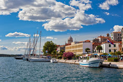 Sibenik, Croatia view Stock Images