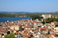 Sibenik, Croatie photographie stock
