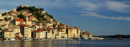 Sibenik harbor Royalty Free Stock Photo