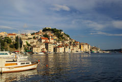 Sibenik harbor Royalty Free Stock Image