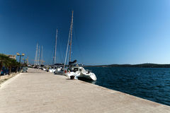 Sibenik Harbor Stock Image