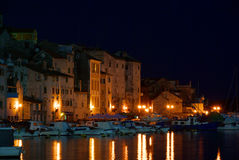 Sibenik night Stock Images