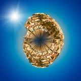 Sibenik is historische stad in Kroatië Royalty-vrije Stock Foto
