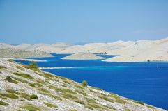 Sibenik islands Stock Photography