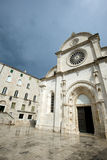 Sibenik landmarks Royalty Free Stock Images