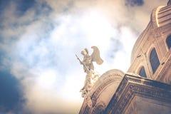 SIBENIK, maj 26,2017: St James katedra w Sibenik, UNESCO światowego dziedzictwa miejsce w Chorwacja Sibenik katedra, Chorwacja Zdjęcia Royalty Free