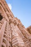 SIBENIK, maj 26,2017: St James katedra w Sibenik, UNESCO światowego dziedzictwa miejsce w Chorwacja Sibenik katedra, Chorwacja Fotografia Royalty Free