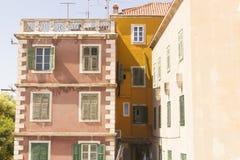 Sibenik old houses Stock Photo