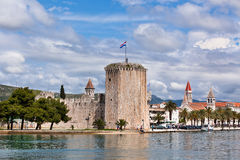 Sibenik, opinión de Croacia fotos de archivo libres de regalías