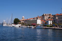 Sibenik,quay Stock Photos