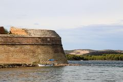 Sibenik Sankt Nikolaus Festung Lizenzfreies Stockfoto