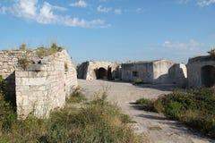 Sibenik Sankt Nikolaus Festung Stockfotos