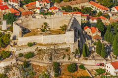 Sibenik St. Michael Fortress Royalty Free Stock Image