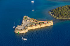 Sibenik St. Nicholas Fortress Royalty Free Stock Photos