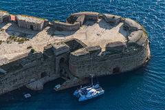 Sibenik St. Nicholas Fortress Royalty Free Stock Images