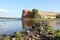 Sibenik St Nicholas Fortress Stock Foto